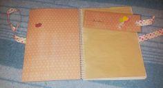 Recetario de Scrap #diy #regalos #libreta #recetario #scrap #scrapbooking #conamor #laboresenlaluna #detalles