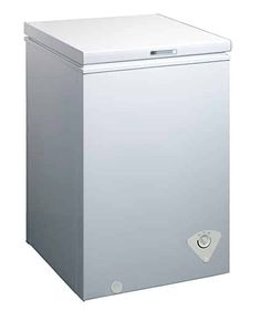 midea Single Door Chest Freezer, Cubic Feet, White - Home Appliances Wire Basket Storage, Wire Storage, Storage Hacks, White Refrigerator, Refrigerator Freezer, Upright Freezer, Chest Freezer, First Day Of Work, Cubic Foot