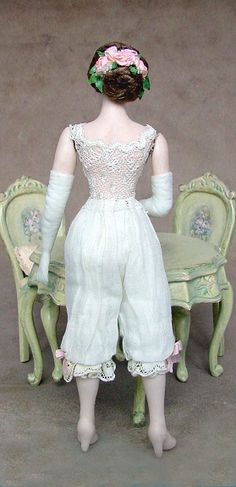 Dollhouse doll by Gina Bellous