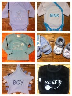 AAAndacht verkoopt tevens babykleding. Wij bij AAAndacht hebben leuke rompertjes in verscheidene kleuren met een leuk tekstje erop voor de kleine VIP / VIB. Ook hebben we slabbetjes, shirtjes en mutsjes met grappige teksten. De slofjes en slippertjes zijn ook ontzettend schattig. AAAndacht heeft nog veel meer leuks voor de Very Important Baby...