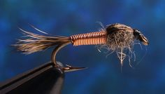 Copper Squirrel Nymph Fly Patterns, Fly Tying Patterns, Homemade Fishing Lures, Fishing Tips, Trout Fishing, Fly Fishing, Steelhead Flies, Plein Air, Squirrel