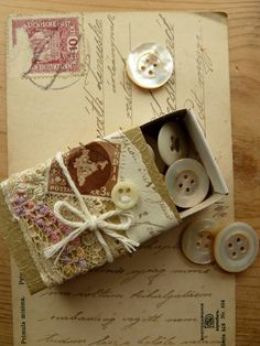 found and sewn: matchbox challenge - the antique one
