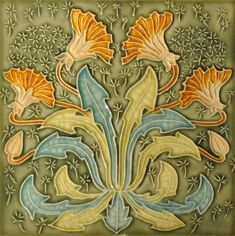Gibbons Hinton & Co. c1903 - RS0982 - Art Nouveau Tiles