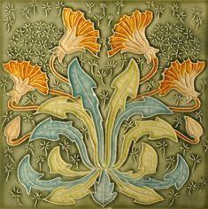 Gibbons Hinton & Co. c1903 - RS0982 - Art Nouveau Tiles