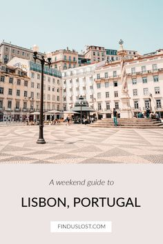 The Lisbon Travel Guide features the best things to do in Lisbon, including: can't-miss restaurants, neighborhoods, sights and more in Portugal's trendiest city, as well is inspiration for a day trip to Sintra. Click through for the full guide via Find Us Lost. #lisbon #portugal #sintra #travelguide #finduslost Visit Portugal, Spain And Portugal, Lisbon Portugal, Portugal Trip, Day Trips From Lisbon, Best Cruise Ships, Portugal Travel Guide, Europe Holidays, Roadtrip