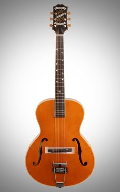 Epiphone Masterbilt Century Zenith Classic Acoustic-Electric Guitar, Vintage Natural