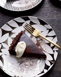 Bittersweet-Chocolate Tart Recipe on Food & Wine