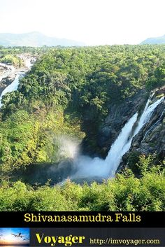Weekend drive to the magnificient Shivanasamudra Falls
