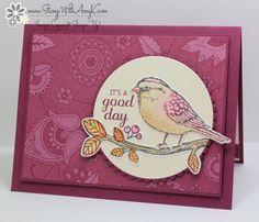 Meilleur Oiseaux - Stamp Avec Amy K