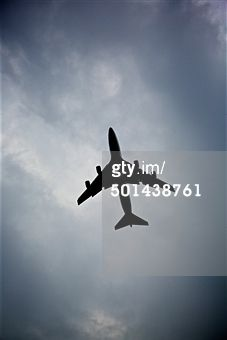 Search - Getty Images : airplane silhouette