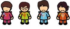 The Beatles by louisebrock82.deviantart.com on @DeviantArt