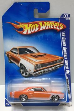 (TAS034006) - 2008 Mattel Hot Wheels Muscle Mania - '69 Dodge Coronet Super Bee