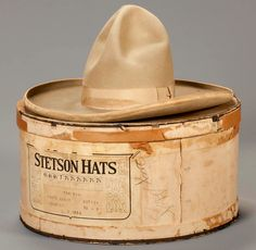 Personal items of John Wayne, Roy Rogers, Tom Mix and other Hollywood Cowboys at January Auction — Old West Events Western Hat Styles, Cowboy Hat Styles, Western Hats, Cowboy Gear, Cowboy And Cowgirl, Rodeo Boots, Roy Rogers, It Goes On, Cool Hats