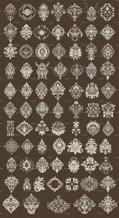 Textile Pattern Design, Motif Design, Textile Patterns, Pattern Art, Design Elements, Border Embroidery Designs, Embroidery Motifs, Hand Work Embroidery, Jewelry Design Drawing