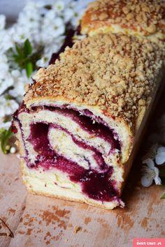 Polish Desserts, Polish Recipes, Cookie Desserts, Sweet Desserts, Sweet Recipes, Delicious Desserts, Yummy Food, Cake Roll Recipes, Dessert Recipes