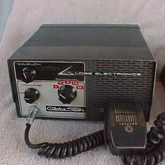 """CB Radio- you had to have a handle to talk. I was """"Live Wire"""". Hmmmm.....some things don't change with time."""