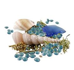 Blue Tide Pools Beach Potpourri (1 Pound) Carry your guests away to the romantic shores of the beach on your special day with our radiant Blue Tide Pools Beach Potpourri! Infused with a refreshing sea breeze fragrance and mixed with a delightful assortment of mini seashells, you'll evoke the grandeur of the most beautiful beaches imaginable to your guests' senses. Optional wedding or bridal shower theme confetti is also available to make sure you can really cater to any event you're…