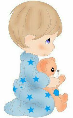Bebé En Pillamas · Precious MomentsBaby ShowerShower ...