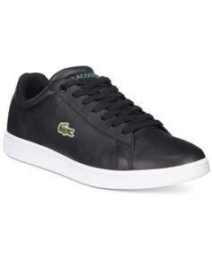 9ec0fbac9 Lacoste Men s Carnaby Evo Canvas Low-Tops - Black 11.5 Lacoste Shoes