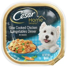 Cesar Home Delights Slow Cooked Chicken and Vegetables Dinner in Sauce (4-Trays 3.5 oz Each) ** You can get more details by clicking on the image. (This is an affiliate link and I receive a commission for the sales)