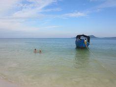 Zwemmen met Bora (12 jaar, inwoners Kho Rong)