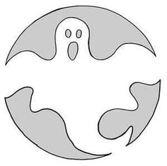 28 best halloween pumpkin stencil ideas images on pinterest ghost stencil 1 for carvable white pumpkins maxwellsz