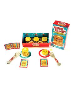Take a look at this Pancake Pile-Up!™ Relay Game on zulily today!