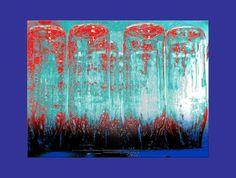 'Flaschen pp' von Rudolf Büttner bei artflakes.com als Poster oder Kunstdruck $18.71