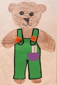 Corduroy The Bear Reading Craft Reading Projects, Book Projects, Project Ideas, Craft Ideas, Preschool Books, Preschool Activities, Bears Preschool, Kindergarten Art Lessons, Kindergarten Crafts