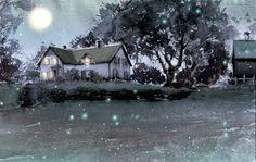 """Anne of Avonlea"" illustration by Kim Ji-Hyuk"