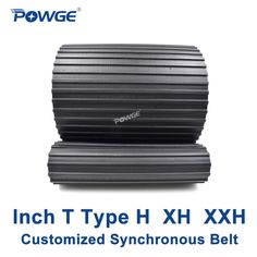 """POWGE Inch T Type H XH XXH synchronous Pitch 0.5""""/0.875""""/1.25"""" Customized production all kinds of Trapezoid H XH XXH Timing Belt #Affiliate"""