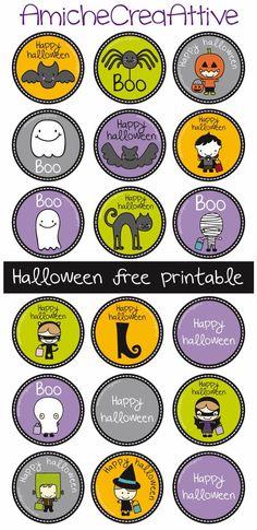 Halloween free printable AmicheCreaAttive: Halloween è vicino... siete pronti?