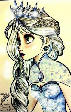 Lovely Elsa piece
