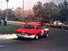 Alfa Romeo Autodelta GTA, 2H of Belgrade, 1968, Driver Toni Peniconi