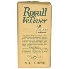 Royall Fragrances Royall Vetiver Lotion for Men, 8 oz