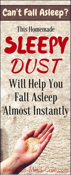 This Homemade Sleepy Dust Will Help You Fall Asleep Almost Instantly! - Healthy Natural World Natural Cures, Natural Healing, Natural Sleep Remedies, Healing Herbs, Ayurveda, Health Remedies, Home Remedies, Herbal Remedies, Health And Beauty