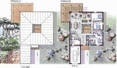Modèle de maison avec ossature bois 3 chambres plain-pied