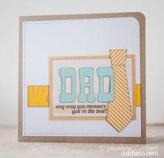 hybrid Dad's Day Card by @Joscelyne Cutchens