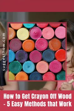 Know the right way of how to get crayon off wood without harming the wood finish. Wood can become a canvas for your kid's or guest's creativity. Remove crayon easily from your wood walls, wood furniture, or wood floors. #homehacks #cleaning #DIY #home Cleaning Diy, Deep Cleaning Tips, Household Cleaning Tips, Cleaning Walls, Bathroom Cleaning, Unfinished Wood Floors, Wood Laminate Flooring, Wood Walls, Dishwasher Detergent