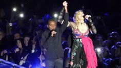"Madonna & David Banda ""Like a prayer"" - Concert Rebel Heart Tour 2015 at AccorHotels Arena in Paris - 10/12/2015 #Madonna"