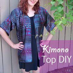 Kimono Top DIY