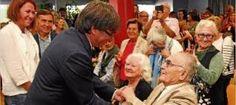 Fita rep un càlid homenatge demanant la independència davant Puigdemont