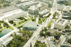 Helsinki Central Library Competition Entry / Marc Anton Dahmen | Studio DMTW | ArchDaily