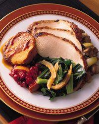 Spice-Rubbed Turkey} via Food & Wine simple salt, sage, pepper and ...