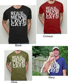 .Real Men Love Cats .