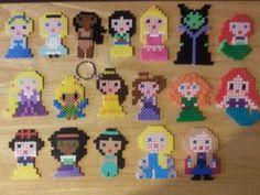 Disney Princess Perler Beads by EmilysPerlerCreation