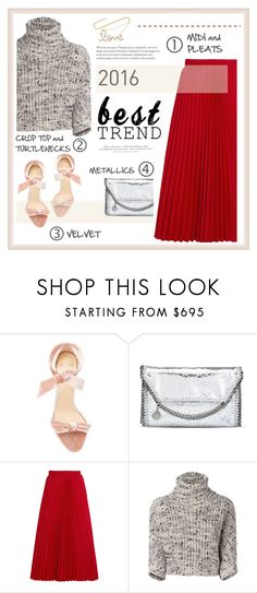 """*1716"" by cutekawaiiandgoodlooking ❤ liked on Polyvore featuring Alexandre Birman, STELLA McCARTNEY, Balenciaga, Brunello Cucinelli, H&M and Sydney Evan"