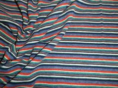 Stretchy Knitted Wool Mix Dress Making Fabric Stripes in Collectables, Sewing/ Fabric/ Textiles, Fabric/ Textiles, Vintage/ Retro (Pre-1980) | eBay