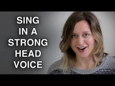 Strengthen Head Voice & Sing with POWER - Felicia Ricci - excellent tips