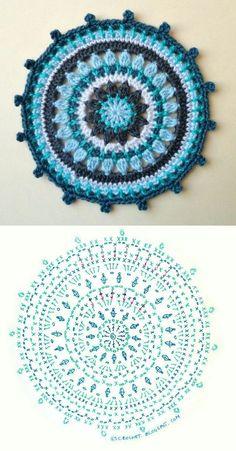 Transcendent Crochet a Solid Granny Square Ideas. Inconceivable Crochet a Solid Granny Square Ideas. Crochet Diy, Crochet Home, Love Crochet, Crochet Flowers, Beautiful Crochet, Crochet Diagram, Crochet Chart, Crochet Stitches, Motif Mandala Crochet